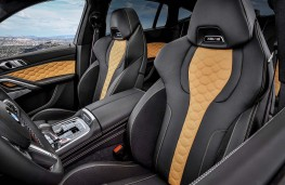 BMW X6 M Competition front seats