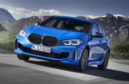 BMW  M135i xDrive front action