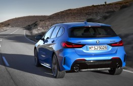 BMW  M135i xDrive rear action