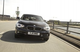 BMW 1 Series, front