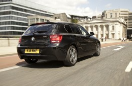 BMW 1 Series, rear