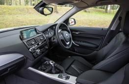 BMW 1 Series, dashboard