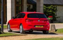 BMW 1 Series, rear static