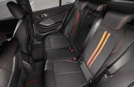 BMW 118i Sport rear seats