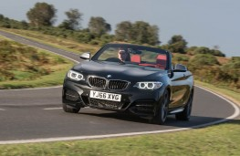 BMW M240i Convertible, action front 2