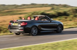 BMW M240i Convertible, action rear
