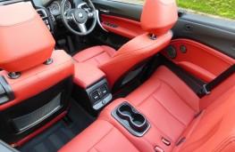 BMW M240i Convertible, rear seats