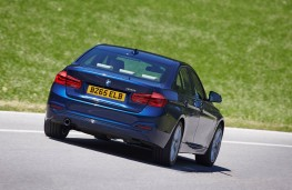 BMW 3 Series, rear action