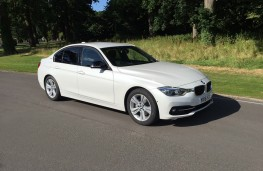 BMW 330e Sport Saloon, front