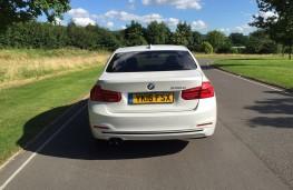 BMW 330e Sport Saloon, rear