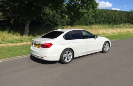 BMW 330e Sport Saloon, rear, static