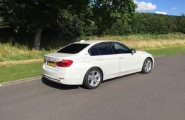 BMW 330e Sport Saloon, rear, static