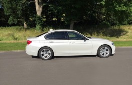BMW 330e Sport Saloon, side