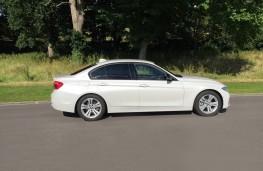 BMW 330e Sport Saloon, side