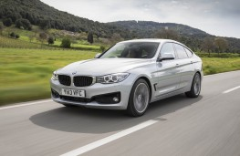 BMW 3 Series Gran Turismo, front, action