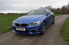 BMW 420d xDrive M Sport Coupe, front