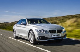 BMW 4 Series Gran Coupe, action 2