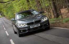 BMW 4 Series Gran Coupe, action front 2