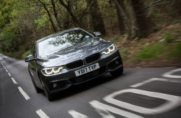 BMW 4 Series Gran Coupe, action front