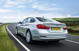 BMW 4 Series Gran Coupe, rear action