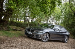 BMW 4 Series Gran Coupe, static side