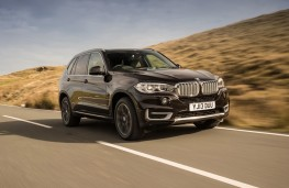 BMW X5, front, action