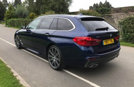 BMW 5-Series Touring, rear