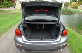 BMW 520d M Sport, boot