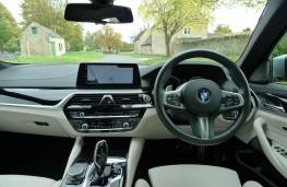 BMW 520d M Sport, dashboard
