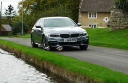 BMW 520d M Sport, front static 2
