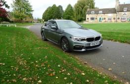 BMW 520d M Sport, front static 3
