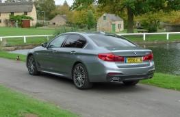 BMW 520d M Sport, rear static 2