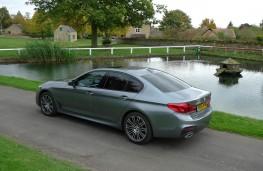 BMW 520d M Sport, rear static 3
