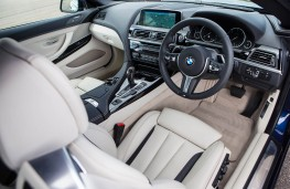 BMW 640d M Sport Convertible, dashboard