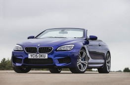 BMW 640d M Sport Convertible, front static 2