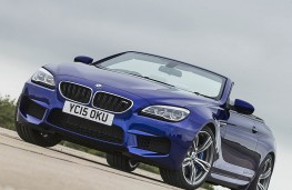 BMW 640d M Sport Convertible, front static