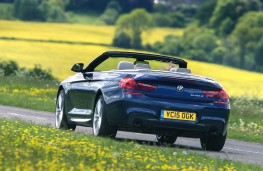 BMW 640d M Sport Convertible, rear action