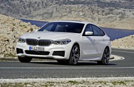 BMW 6 Series Gran Turismo front action