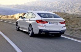 BMW 6 Series Gran Turismo rear action