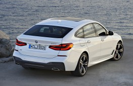 BMW 6 Series Gran Turismo rear overhead