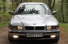 BMW 750iL, 1995, once owned by Francis Rossi, front