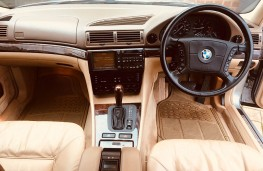 BMW 750iL, 1995, once owned by Francis Rossi, interior