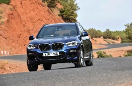 BMW X3, front