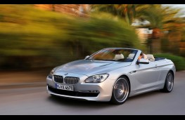 BMW 6 Series Convertible, action