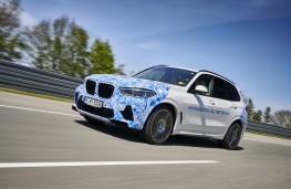 BMW i Hydrogen NEXT, 2021, front