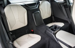 BMW i8, rear seats