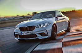 BMW M2 Competition front threequater action