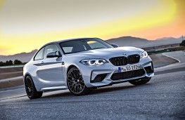 BMW M2 Competition front threequater static