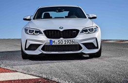 BMW M2 Competition head-on