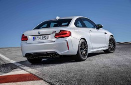 BMW M2 Competition rear threequater static
